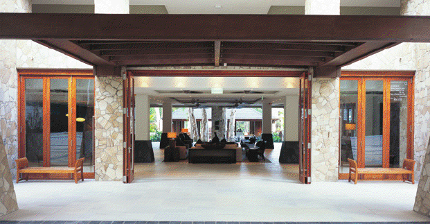 Hurricane Rated Bi Folding Doors