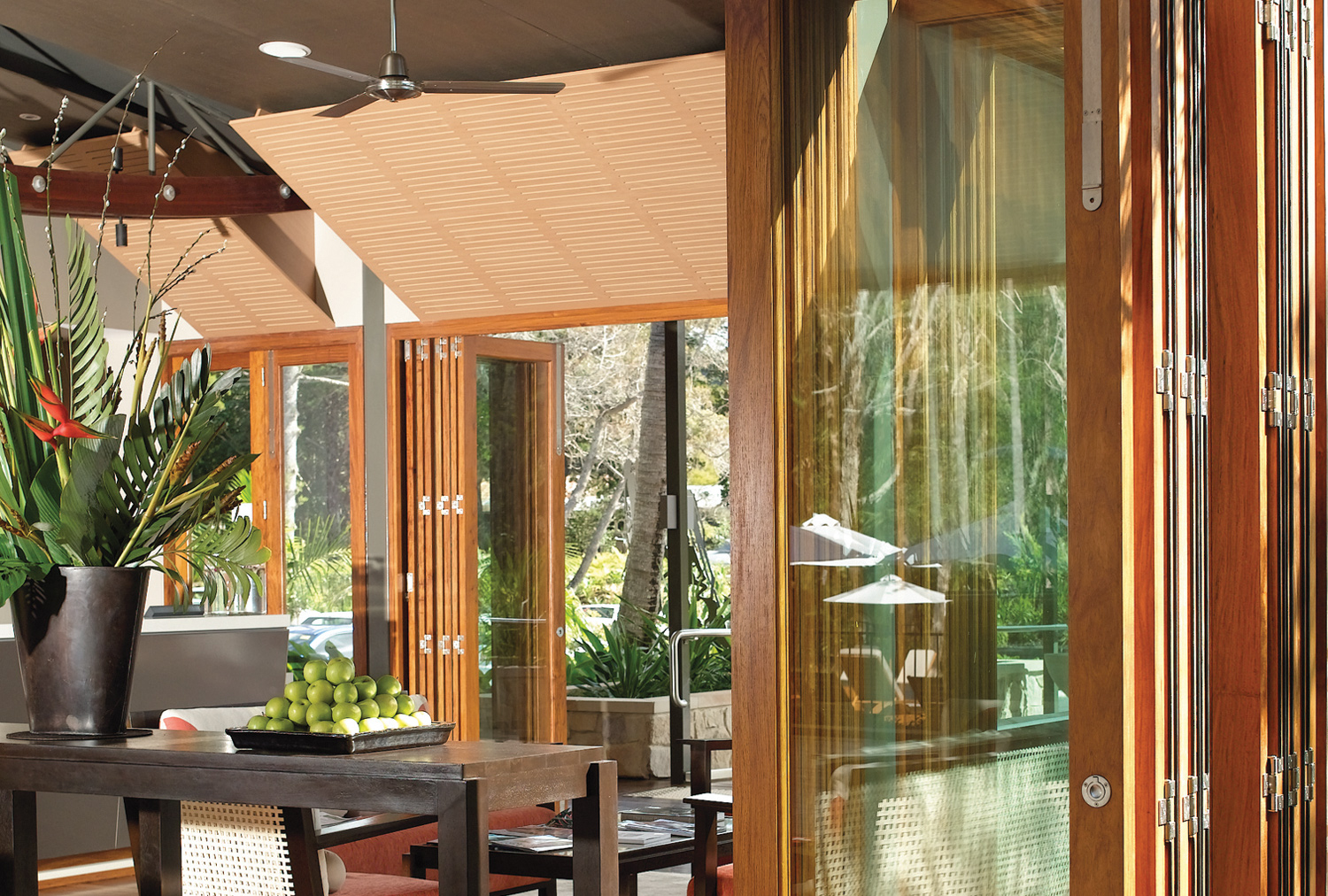 Euro Vista Wood™ Folding Doors