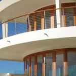 Euro Vista Wood™ Impact Rated Folding Doors