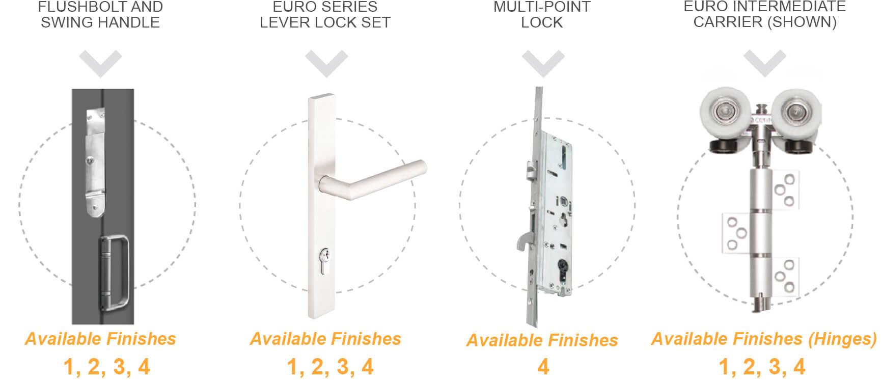Euro Vista Wood™ Impact Rated Folding Doors • Euro-Wall Systems
