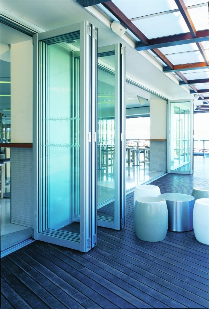 Exterior Aluminum Bi-Folding Doors - Euro-Wall