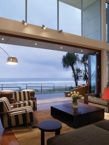 Exterior Wind Resistant Bi-Folding Doors